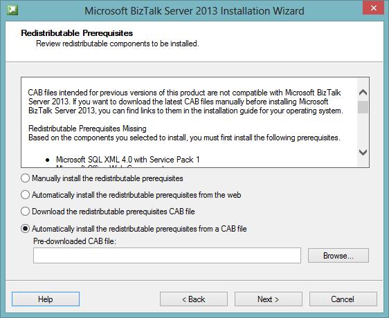 PowerShell script to download BizTalk Prerequisite CAB file – Kjetil